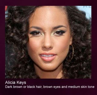 Alicia Keys Wearing Motives By Loren Ridinger Motives Makeup
