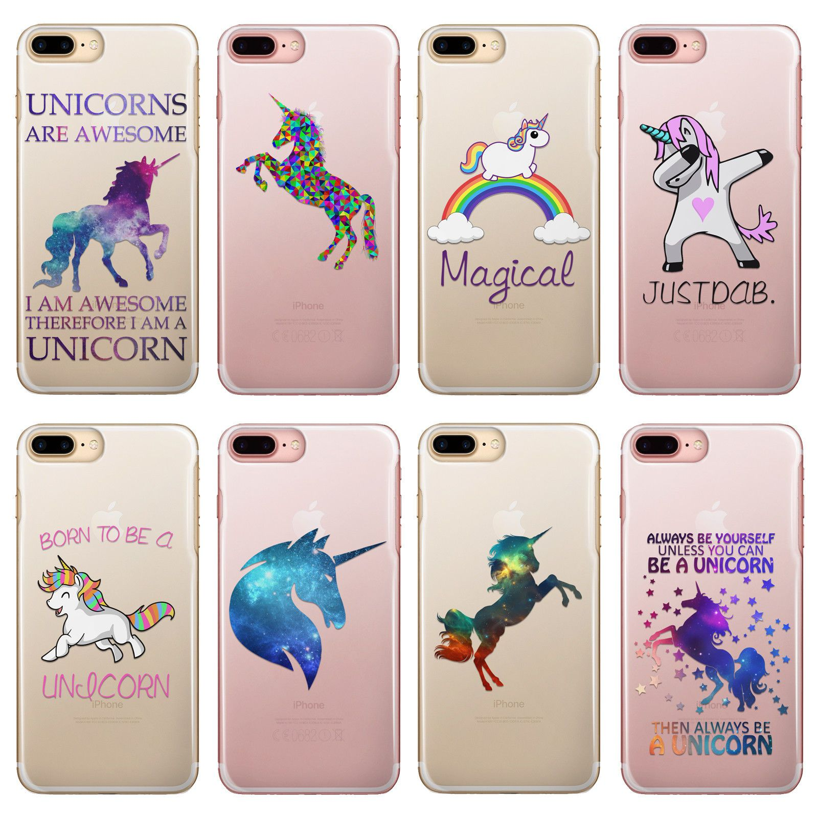 Image of: Auctions 199 Gbp Hairyworm Funny Unicorns On Clear Hard Phone Case For Apple Samsung Google Sony ebay electronics Pinterest 199 Gbp Hairyworm Funny Unicorns On Clear Hard Phone Case For