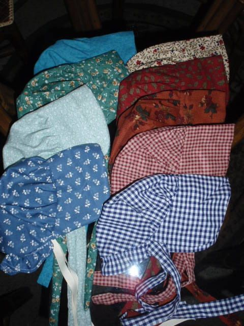 New Fabric Choices   Sunbonnet for by alohagirldollclothes on Etsy, $7.00