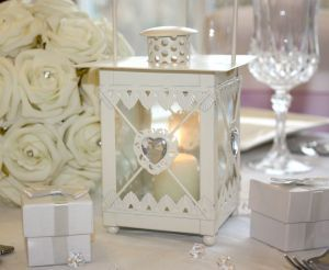 Cream table lantern centrepice ebay uk wedding heart decor wedding supplies ebay junglespirit Choice Image