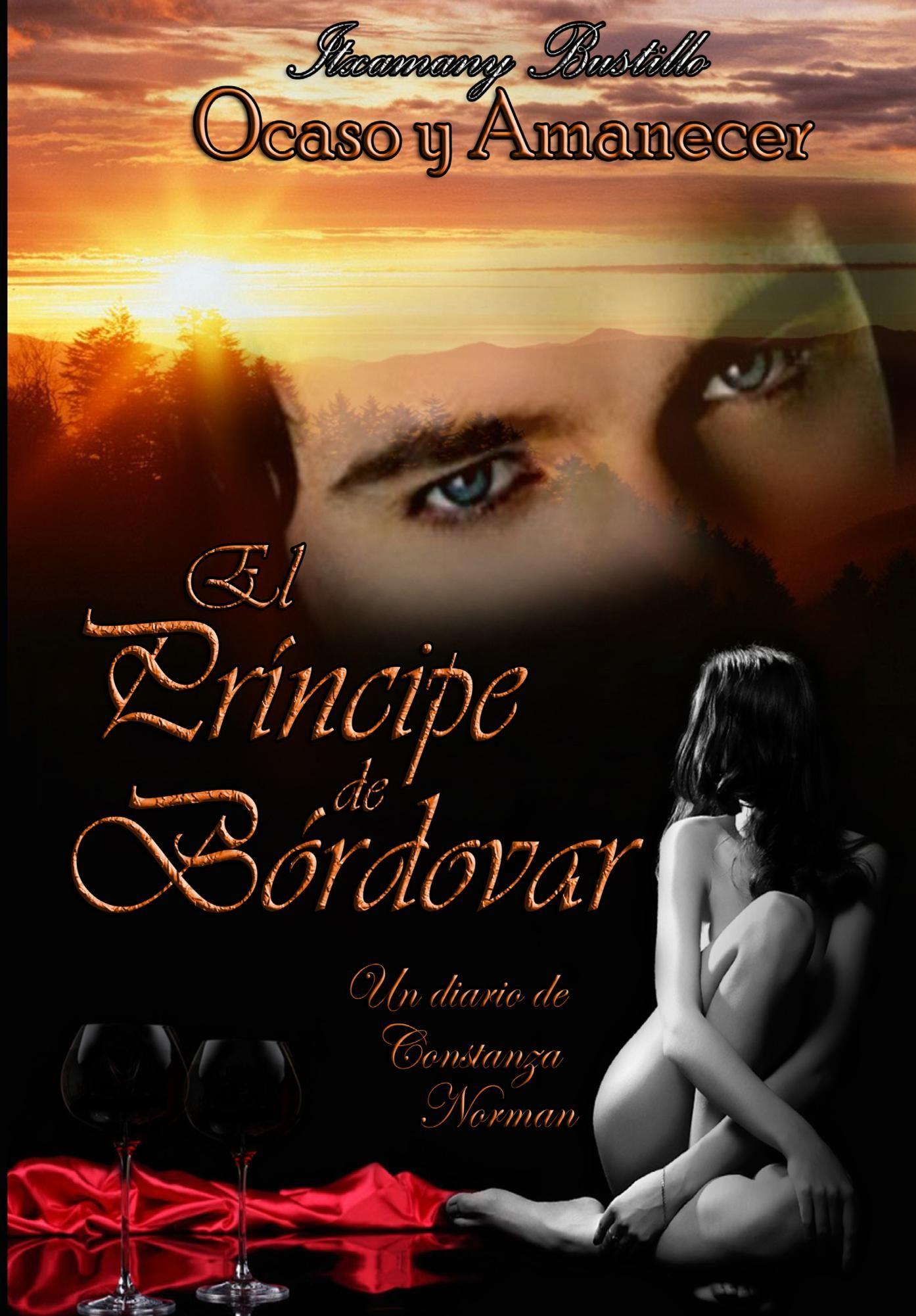 """Portada del libro completo """"El Príncipe de Bórdovar"""" en formato impreso."""