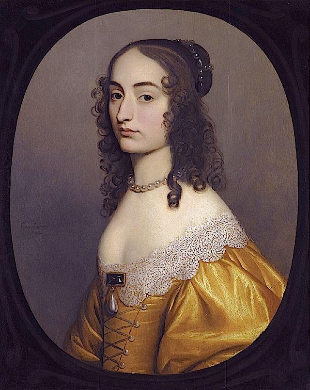 1642 Princess Louise Hollandine By Gerrit Van Honthorst 17th