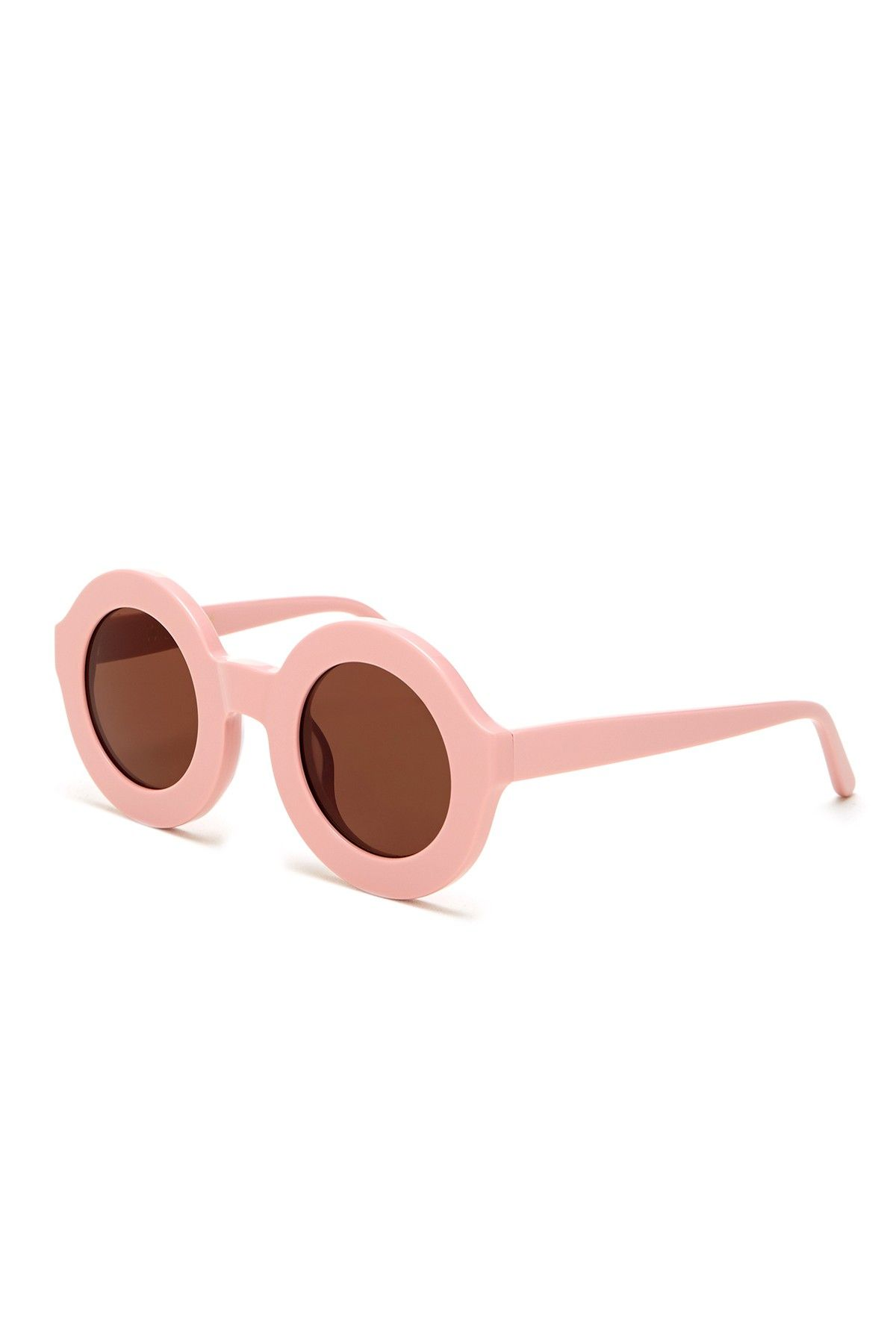 WILDFOX | Women's Twiggy Round Plastic Sunglasses | Nordstrom Rack