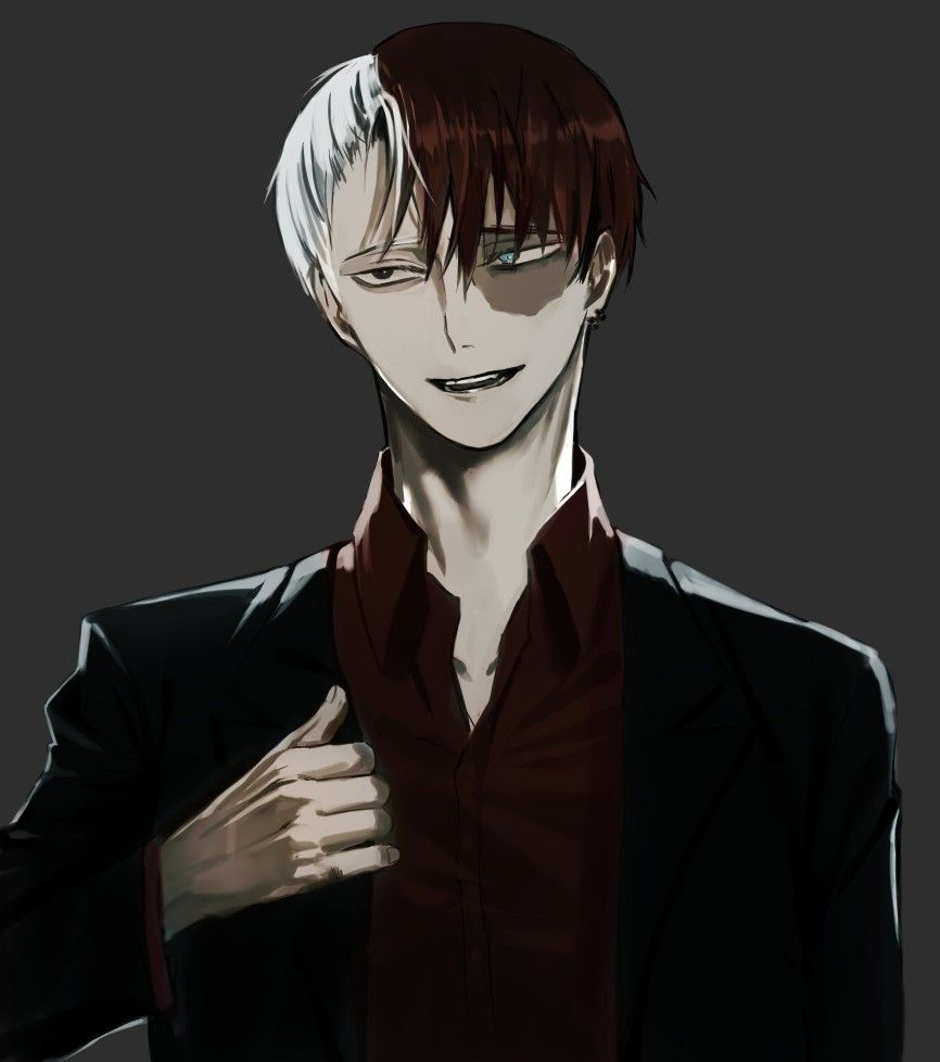 Villain Todoroki Shouto My Hero Academia Manga Villain Deku My Hero Academia Shouto