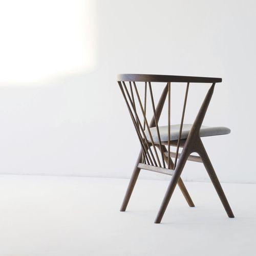 Stuhl Skandinavisches Design Aus Eiche Bugholz Leder Sibast No 8 Sibast Furniture Skandinavische Stuhle Stuhl Design Skandinavisches Design