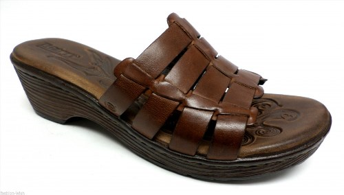 35.10$  Buy here - http://vitod.justgood.pw/vig/item.php?t=krf1v837446 - New BORN Brown Size 9 Sandals Wedges or Shoes 40.5