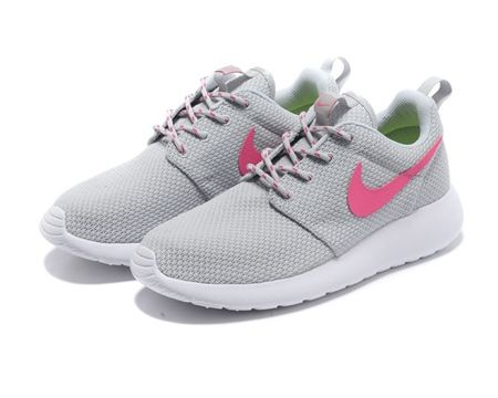 623d3bd353e0f ... ebay womens nike roshe run light grey pink shoes 1543c d02c8