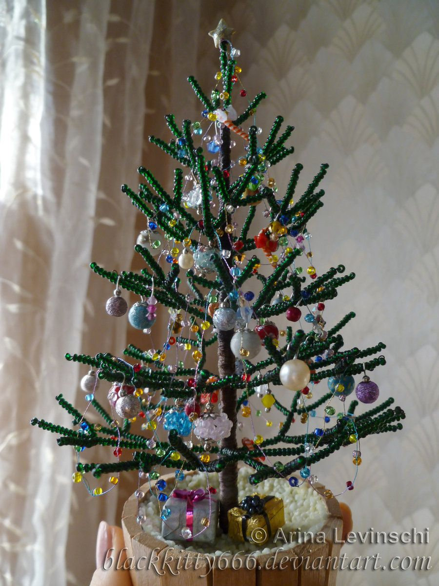 Winter tree: bead weaving 52