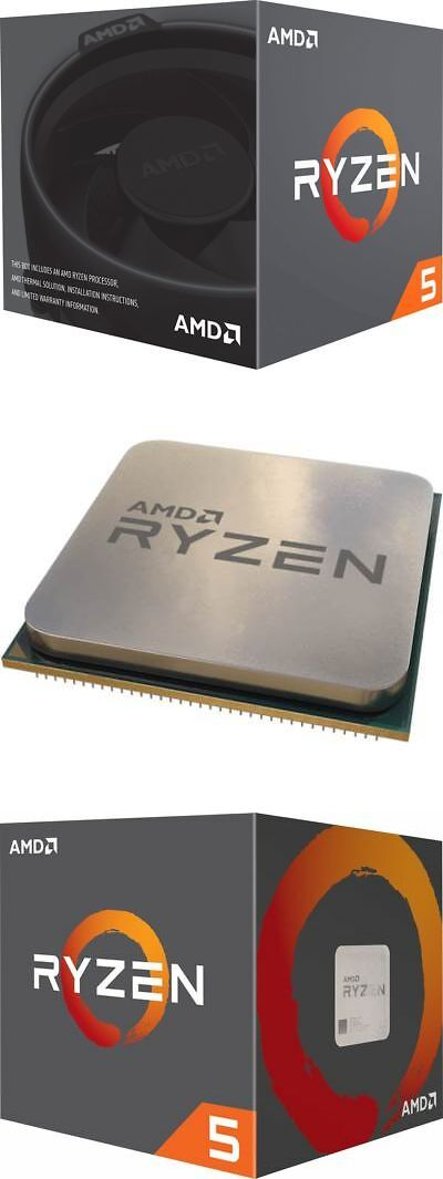 CPUs Processors 164: Amd - Ryzen 5 2600 Six-Core 3 4 Ghz