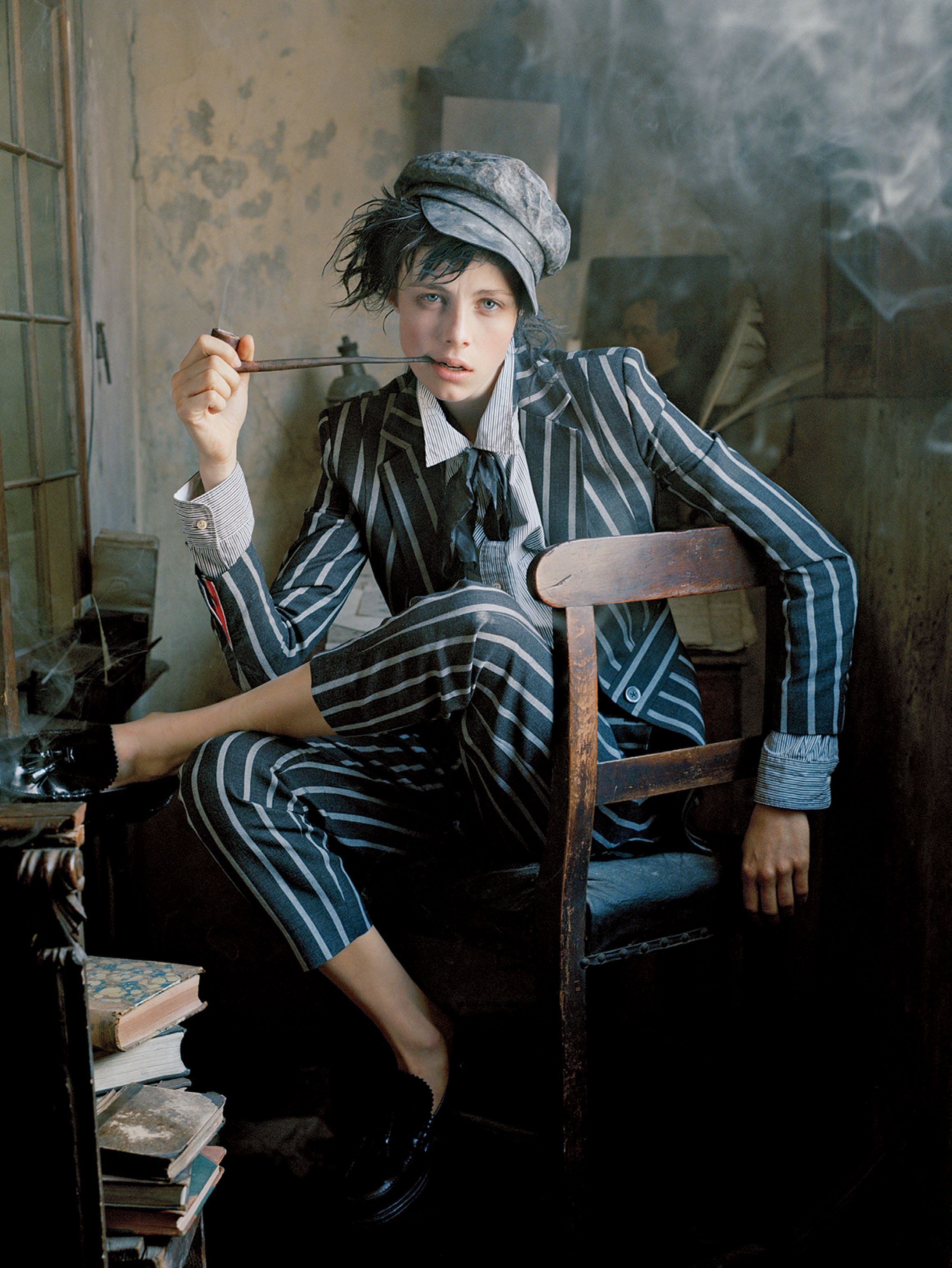 Edie Campbell   Photography by Tim Walker   For Vogue