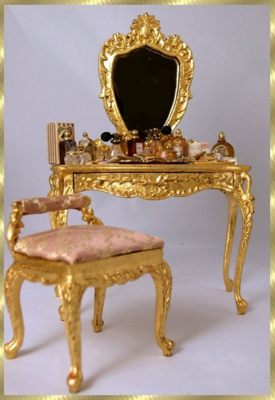 "The beautiful Bespac limited edition classic ""Swan"" vanity"