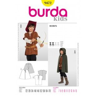 b9472 costumes burda patterns kids halloween boys sewing pattern timetravelstyle timetravelcostumes