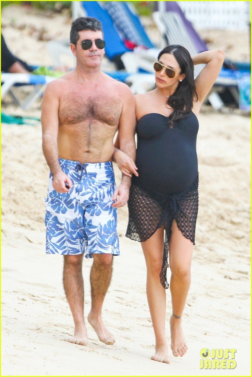 Simon Cowells Baby Son Simon Cowell Celebrity Families Simon