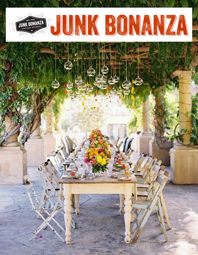 Junk Bonanza + Weddings Lab - a vintage market experience in San Diego