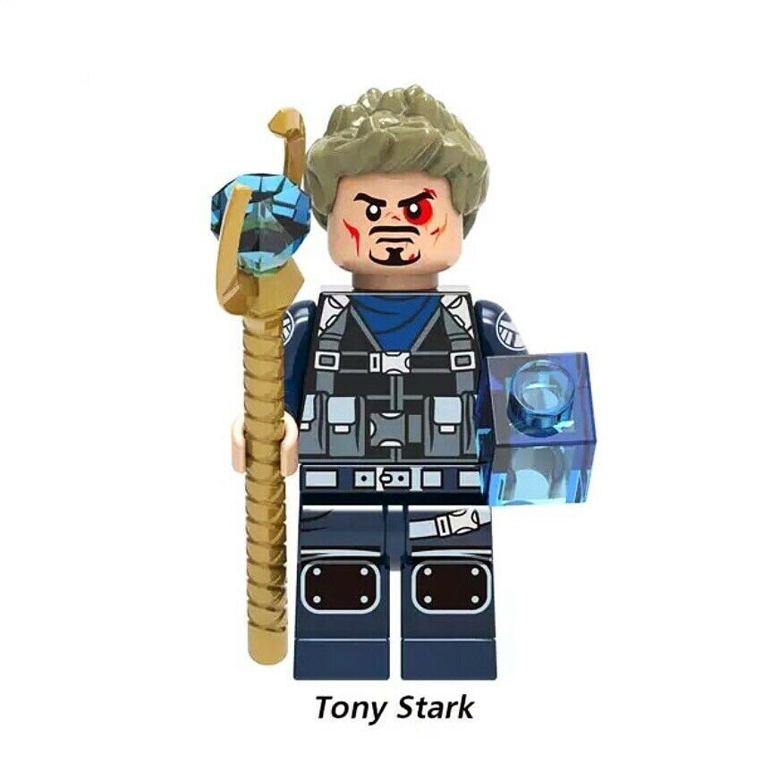 CUSTOM LEGO Avengers Endgame Tony Stark Iron Man
