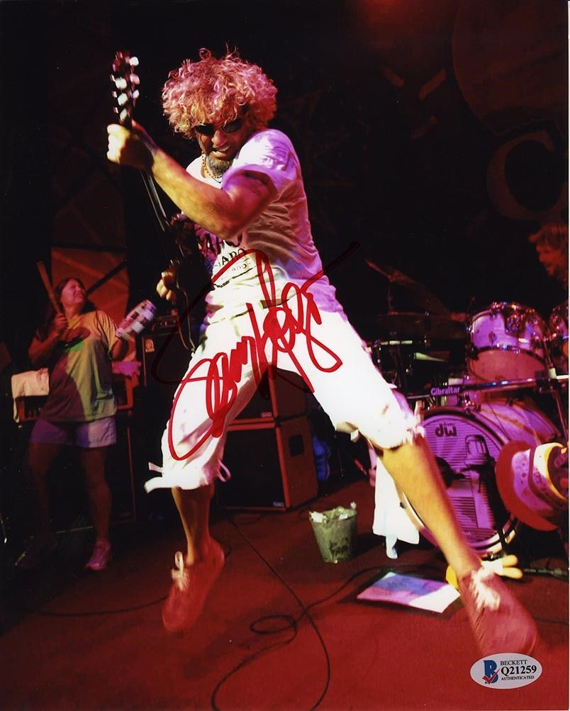 Sammy Hagar Signed 8x10 Photo Certified Authentic Beckett Bas Coa Aftal In 2020 Sammy Hagar 8x10 Photo Photo