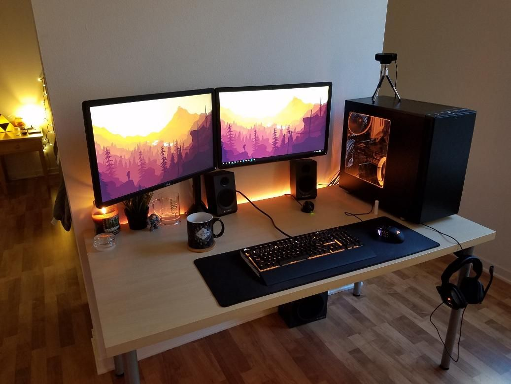 Minimalist Gaming Desk