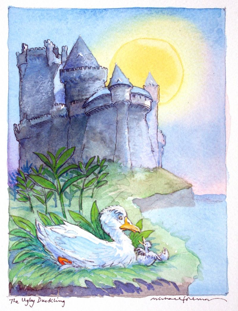 michael foreman the ugly duckling classic fairy tales 2005