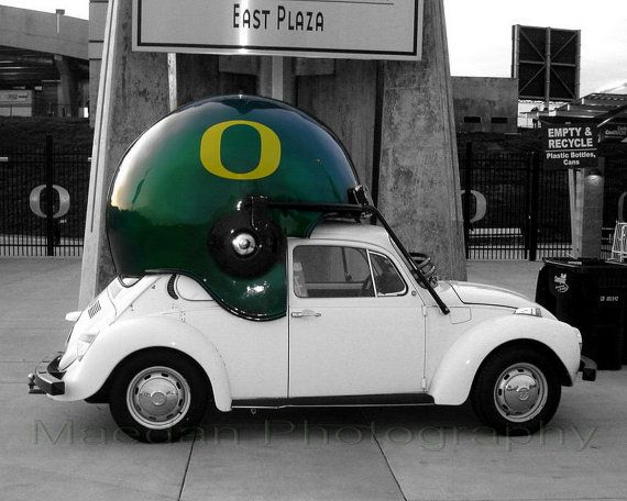 University of Oregon Ducks VW 8 x 10 Photo Print by schmairb, $12.00