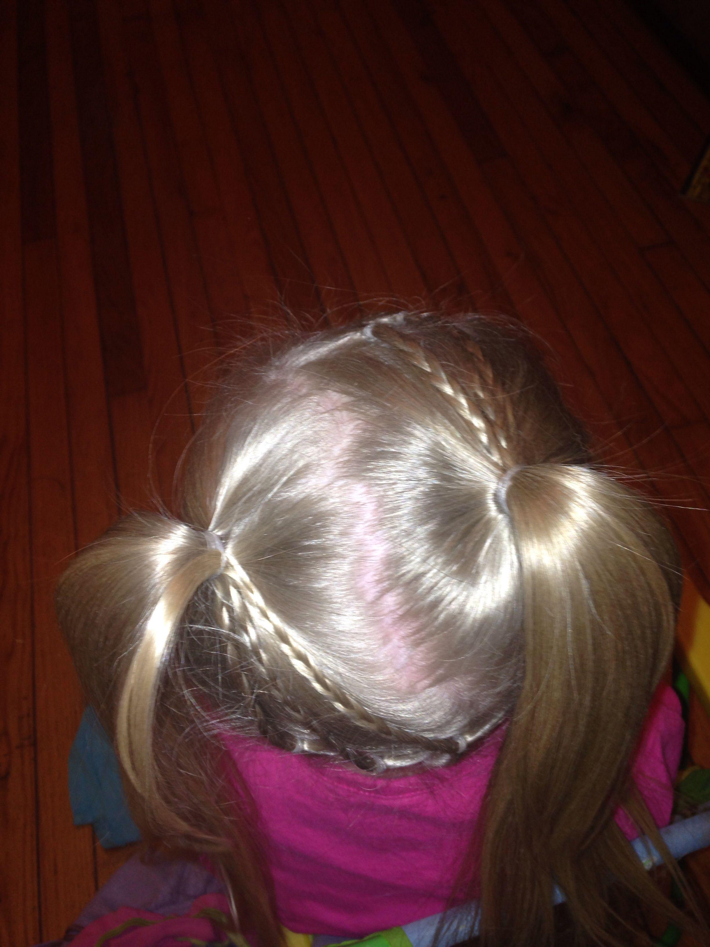 My girls hair