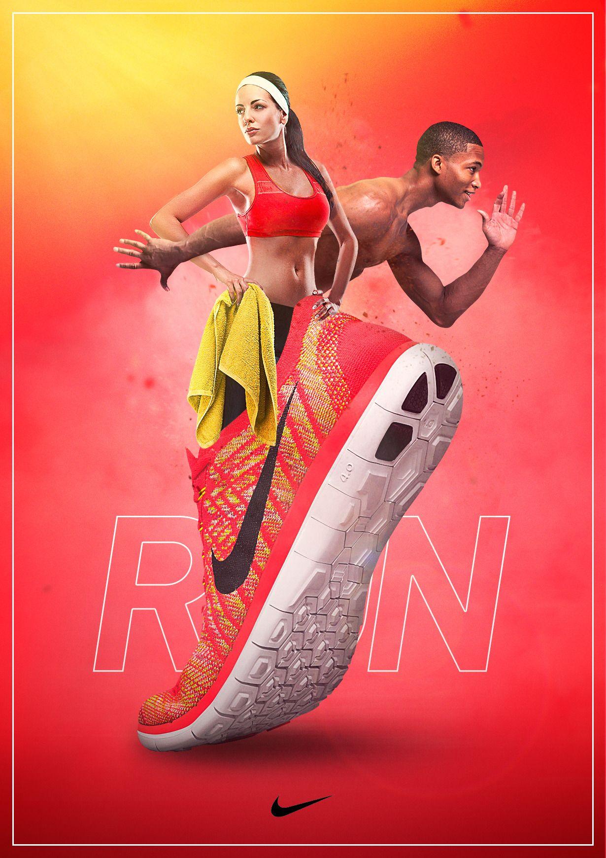 Ayearofweeklyads Sport Poster Design Design Nike Shoes Shoe Advertising