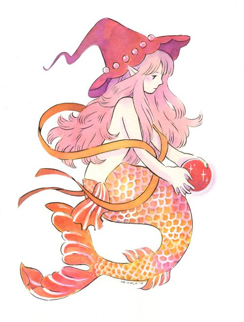 Inktober 21, Mermaid Witch Forgot to mention that I'll be at Oulu Comics Festival in start of next month and after that I'll be traveling to Japan for three weeks and will be tabling at Design Festa in Tokyo Big Sight on 27th and 28th of November!...