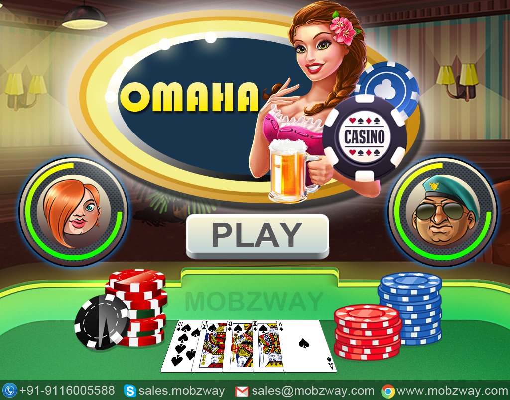 Omaha Poker Second most popular poker variation in the