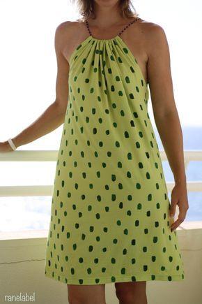 Schulterfreies Strandkleid - Top od. Flop | Pinterest | Glücklich ...