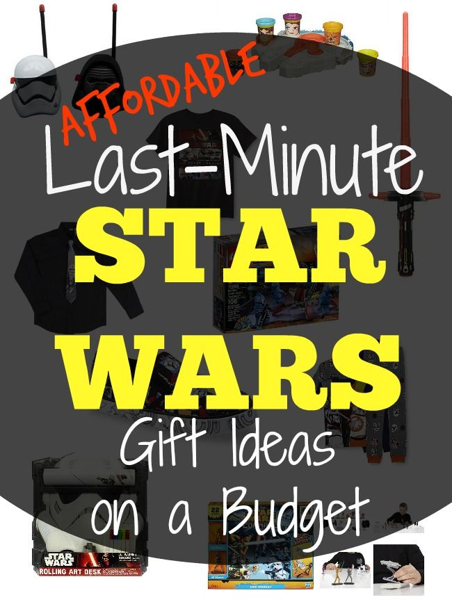Affordable Last-Minute Star Wars Gift Ideas at Kmart | Star wars gifts