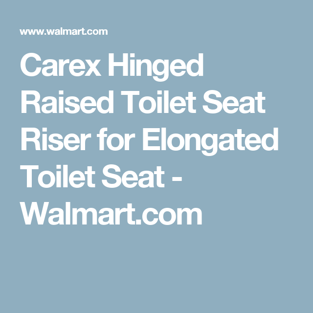 Prime Raised Toilet Seat Elongated Carex 3 1 2 Inch White 300 Theyellowbook Wood Chair Design Ideas Theyellowbookinfo