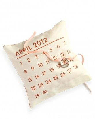 "See the ""Personalized Ring Pillow"" in our  gallery"