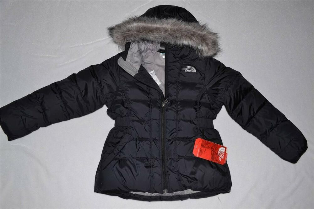 Girls Black North Face Jacket Girls used North Face Jacket