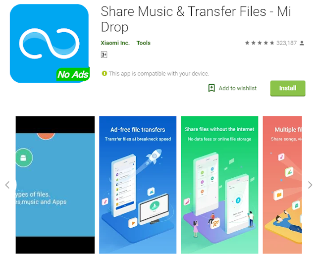 Mi Drop | Share File seamlessly fast | Android App Download