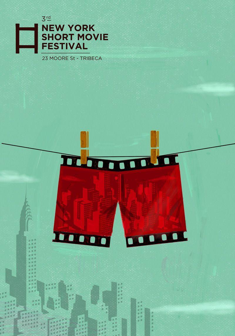 Digital Illustration Movie Festival Poster Movie Festival Poster Beach Festival Poster Wine Festival Pos In 2020 Festival Posters Film Festival Poster Festival