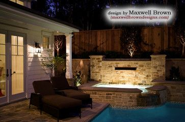 Newport Beach Spa at Poolhouse - traditional - pool - orange county - by Maxwell Brown