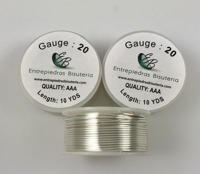 wire #20 Gauge Color: Silver www.epbwire.com | Alambres de Bisuteria ...