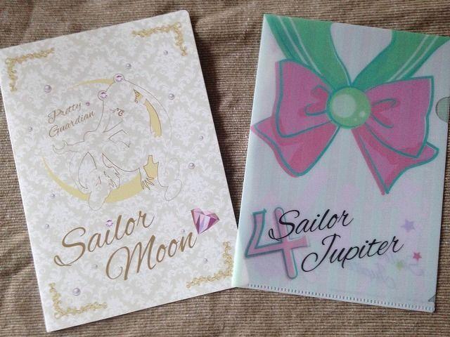 Sailor Moon Mini Clear File Folder Sailor Jupiter Kino Makoto A5 size Japan
