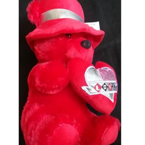 تسوق دبدوب هدية عيد الحب و اعياد الميلاد و المناسبات اونلاين جوميا مصر In 2021 Bear Plush Toy Teddy Bear Plush Valentine Gifts