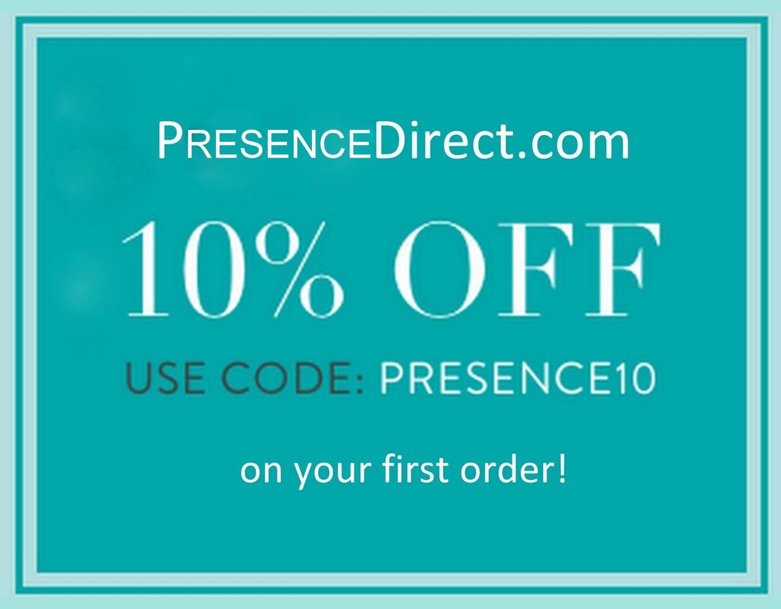 Presence website use code