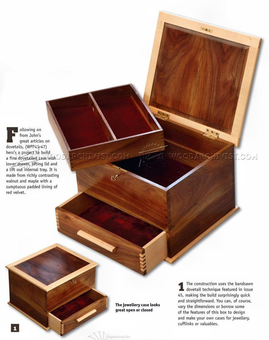 Jewellery Box Plans Woodworking Plans Woodworking Jewellery Box Jewelry Box Plans Wood Jewelry Box