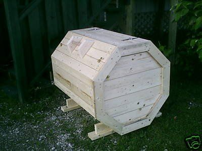 plans how to make an octagon wood garbage storage box new12 in 2019 diy storage box wood. Black Bedroom Furniture Sets. Home Design Ideas