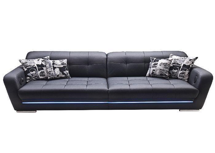 Big Sofa Mercury Soundmachine Lightmachine Couch Gunstig Sofa Mit Relaxfunktion Zweisitzer Sofa