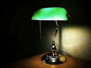 Accountantu0027s Office Green Lamp   Google Search