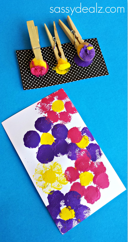 Photo of Flower Pom Pom Painting Craft for Kids – Crafty Morning