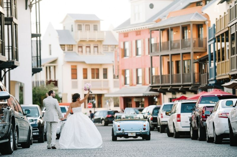 Colorful Eclectic Rosemary Beach Wedding