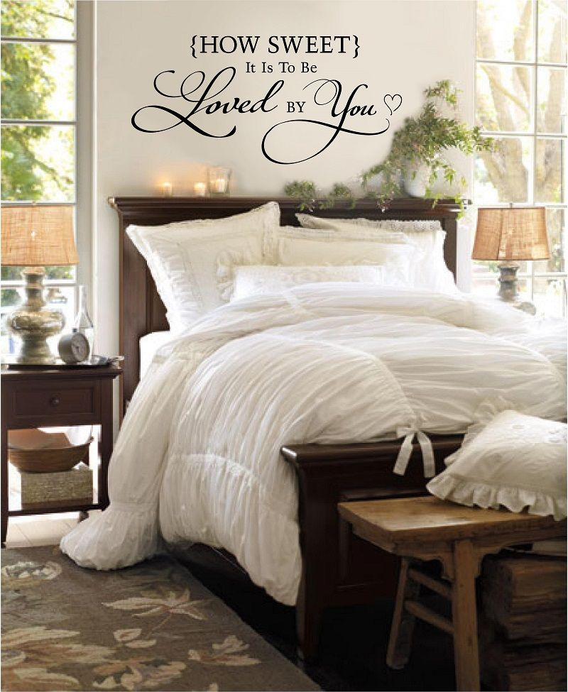 romantic sayings over the bed - Google Search | wedding ...
