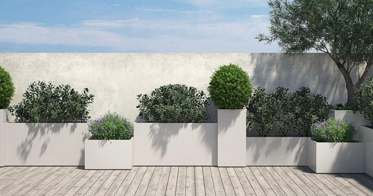 Idee creative per il tuo giardino fioriere in acciaio su misura contattami per uno sconto del 10 giardino giardinaggio terrazzo progettogiardino