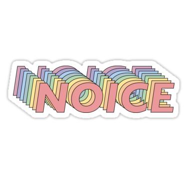 'Brooklyn Nine Nine Noice' Sticker by easchoonover ...