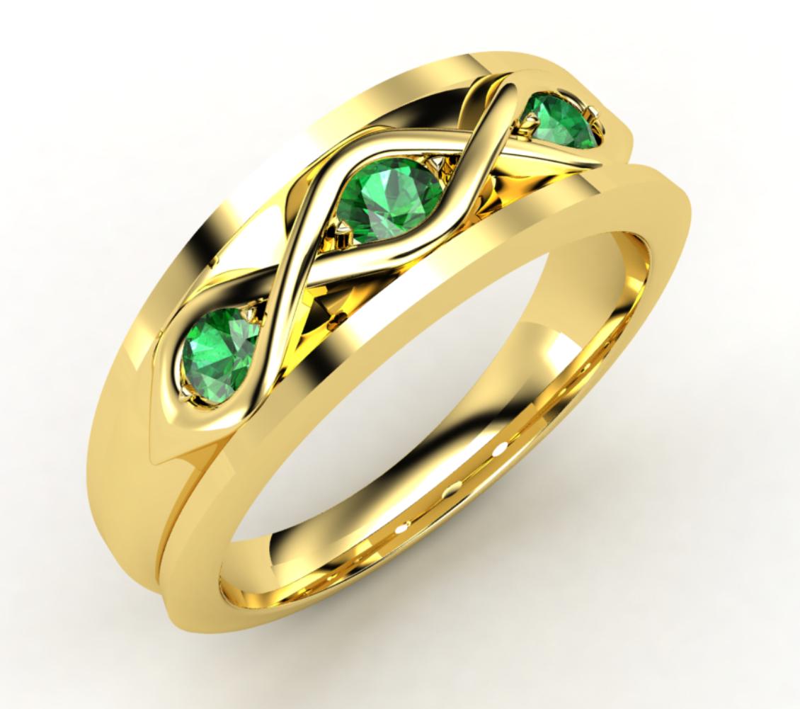 Emerald engagement ring. | My Life | Pinterest | Ring