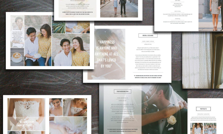 Wedding Photography Brochure By Bittersweetdesignboutique On Creative Market